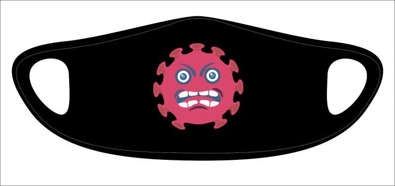 Lasermaske Virus - wiederverwendbar