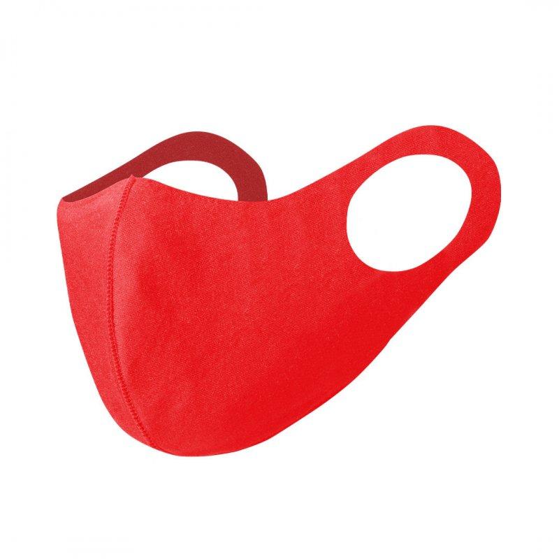 Softshellmaske rot - wiederverwendbar