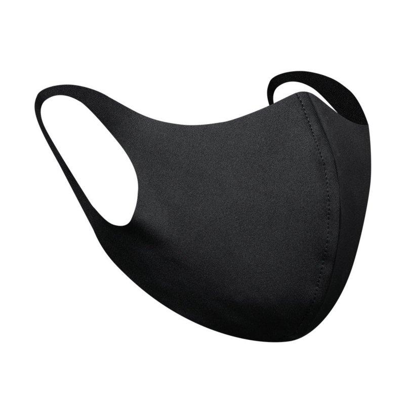 Softshellmaske schwarz - wiederverwendbar