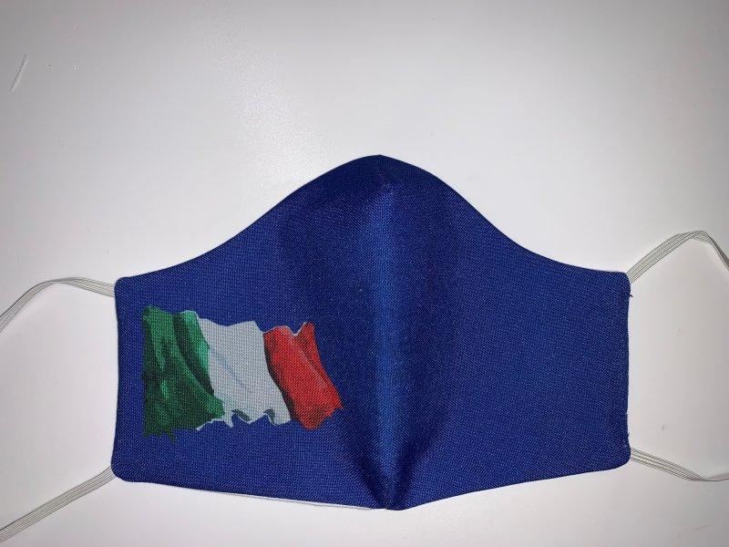 Maske mit Gummiband  Italy2 - wiederverwendbar