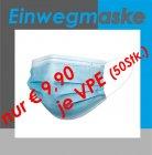 EINWEGMASKE - Blau