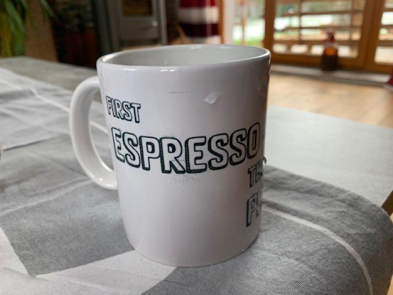 TASSE bedruckt Espresso Prosecco