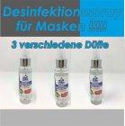 Desinfektionsspray für Masken