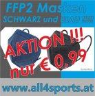 FFP2  Maske BLAU CE zertifiziert